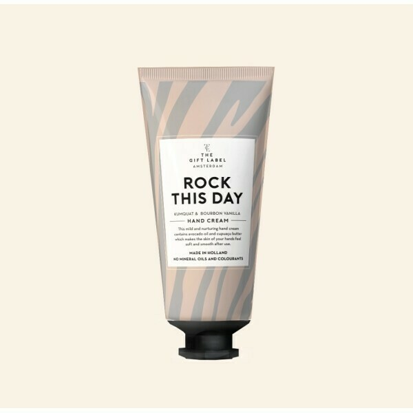Rock This Day Hand Cream Tube - The Gift Label
