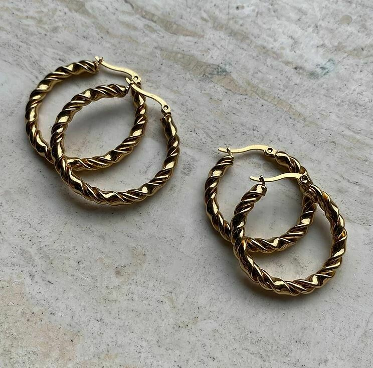Abby Hoops - 2 Sizes