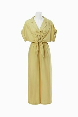 80's Style Jumpsuit Yellow - Dear Siouxsie