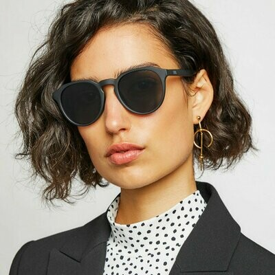 TYO Sunglasses Unisex - Black Grey & Tort  Brown - Local Supply
