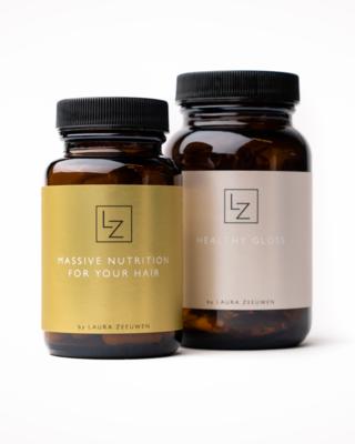 Massive Hair Nutritions + Healthy Gloss DUO - LZ Hair
