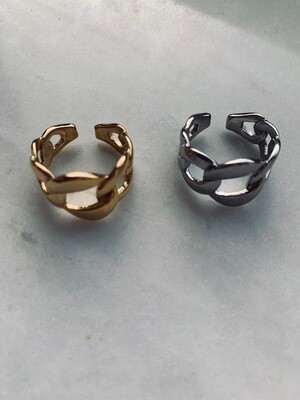 Elsa Ring - Gold & Silver - One Size