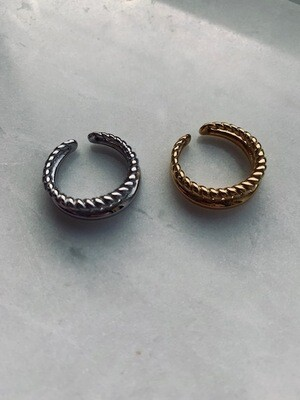 Letty Ring - Gold & Silver - One size