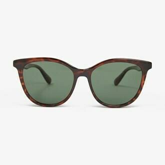 ADL Sunglasses - Tort  Green - Local Supply