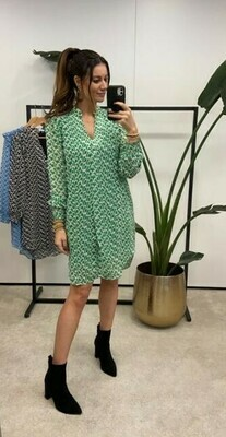 Green Retro Midi Dress - Kilky