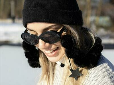 Snowy Cords Black & Brown | Limited Winter Edition