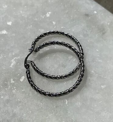 Patty Hoops - Silver