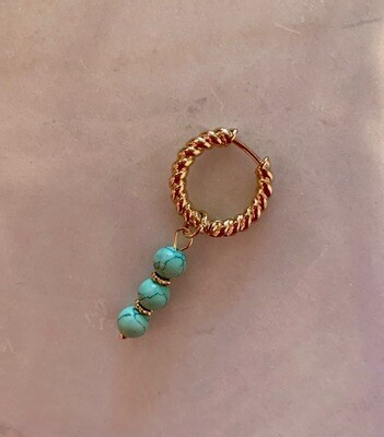 Erin Earring Turquoise - One Piece