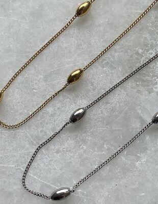 Jones Necklace - Gold & Silver