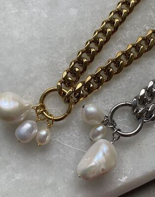 Milly Necklace - Gold & Silver