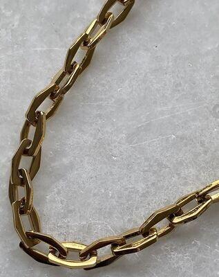 Zara Necklace - Gold & Silver - Big & Small Chain