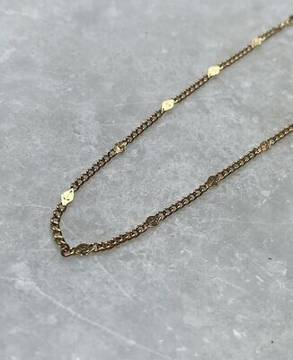 Joan Necklace - Gold & Silver