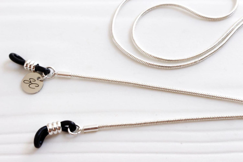 Silver Delicate Snake Round Sunglasses Chain ★  Sunny Cords
