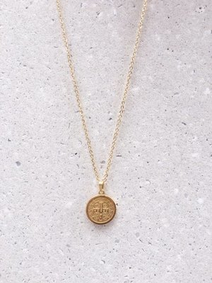 MY LUCKY COIN NECKLACE
