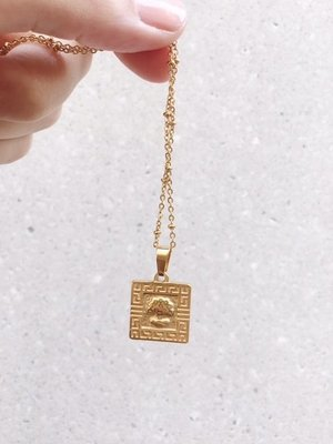 TREE OF LOVE SQUARE NECKLACE