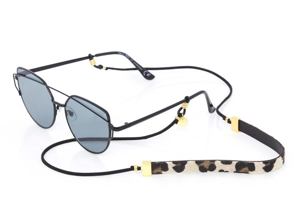 Leopard Lady Gold Sunglasses Chain ★ Sunny Cords