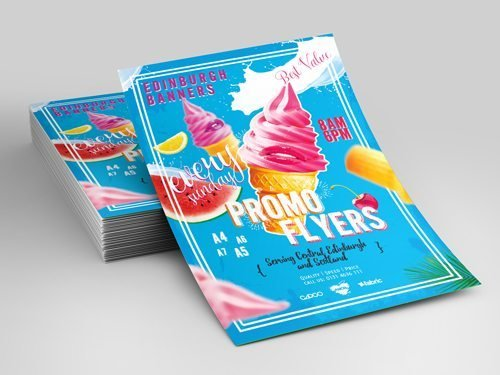 2 sided A5/A4 Flyer Design (Free 1000pcs! Worth RM390!!!)