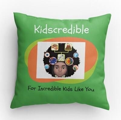Kidscredible Logo Pillow