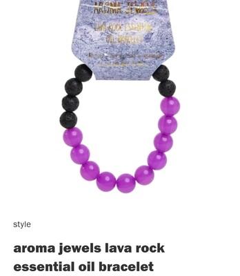 Kidscredible Purple Lava Stone Bracelet