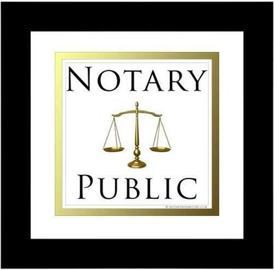 Notary Public Services-Per Document - Onsite By Appointment Only