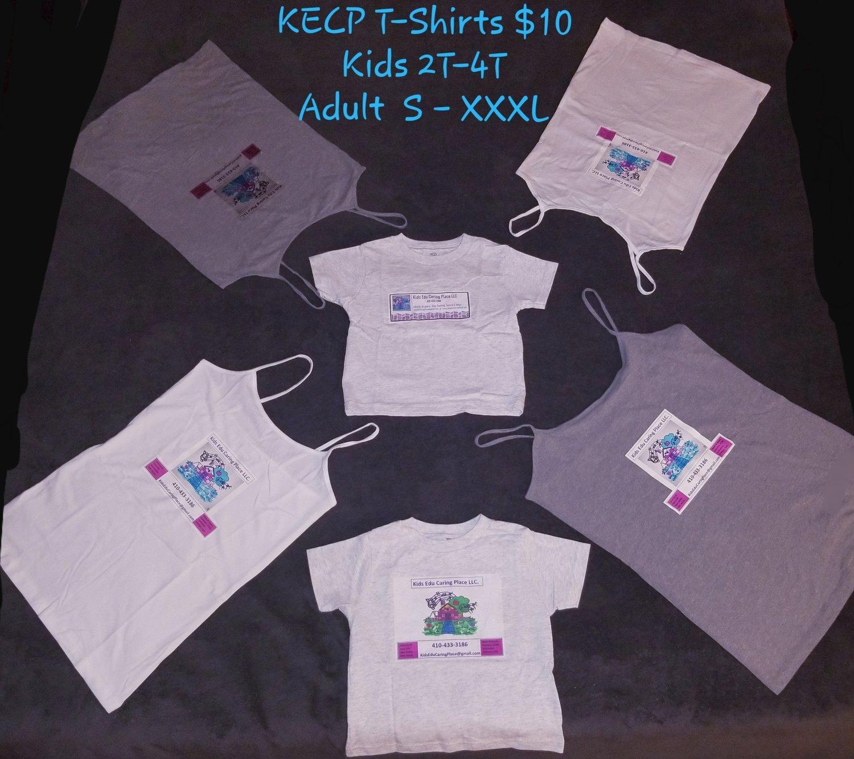 Kids Edu Caring Place Logo T Shirt- Infants, Preschoolers to Adult Sizes