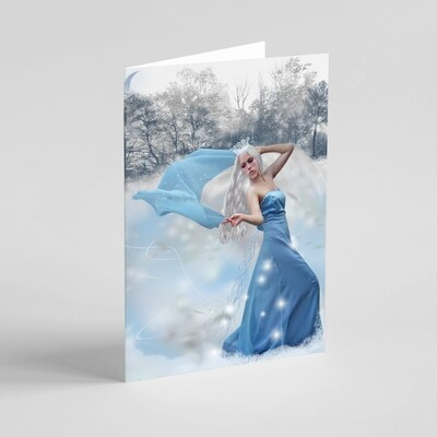 'Dance of the Ice Queen' Winter Holidays / Christmas / Solstice Greeting Card