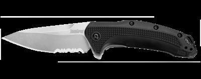 1776ST Kershaw FRN Handle/Satin Serrated Blade
