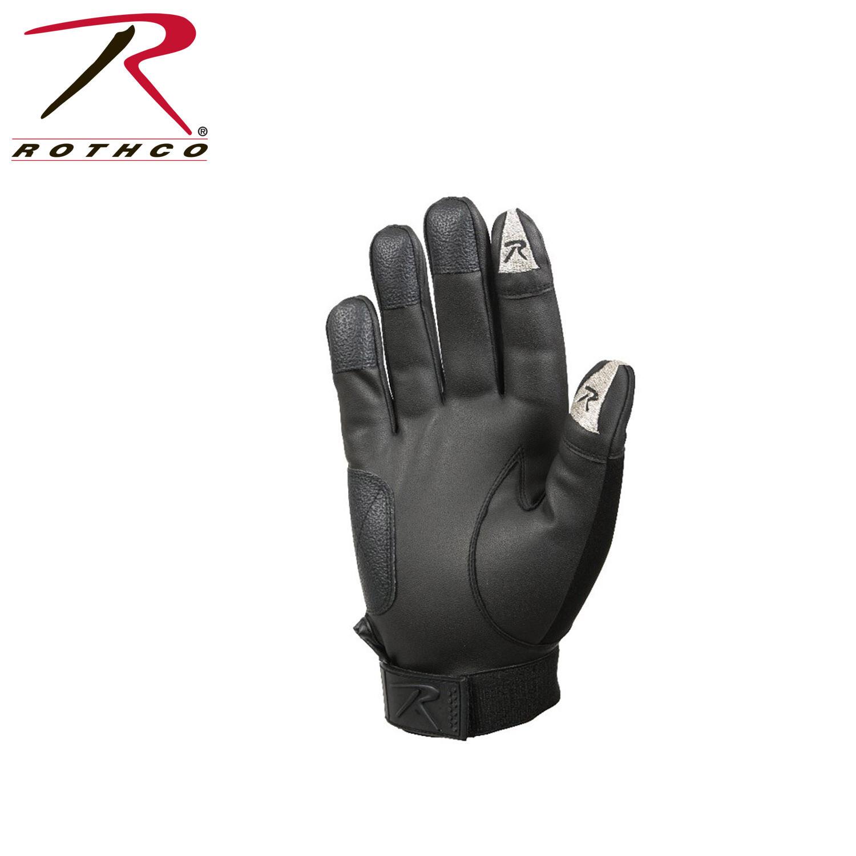 Rothco, 3409, Rothco Black Touch Screen Neoprene Duty Gloves