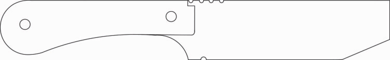 JPBW, Tac 7 Pry Knife, 1095HC w/sheath