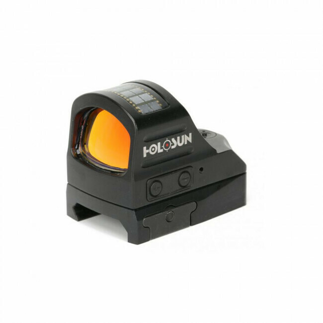 Holosun, HS507C, Classic Open Reflex Sight- Circle Dot/Solar panel