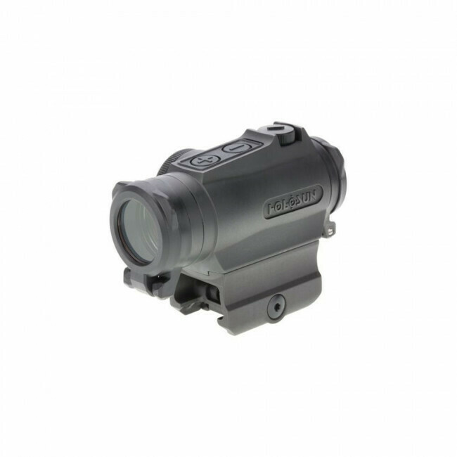 Holosun, HE515GTGR, Elite Titanium Micro Reflex Sight - Green Circle Dot/QD/Titanium
