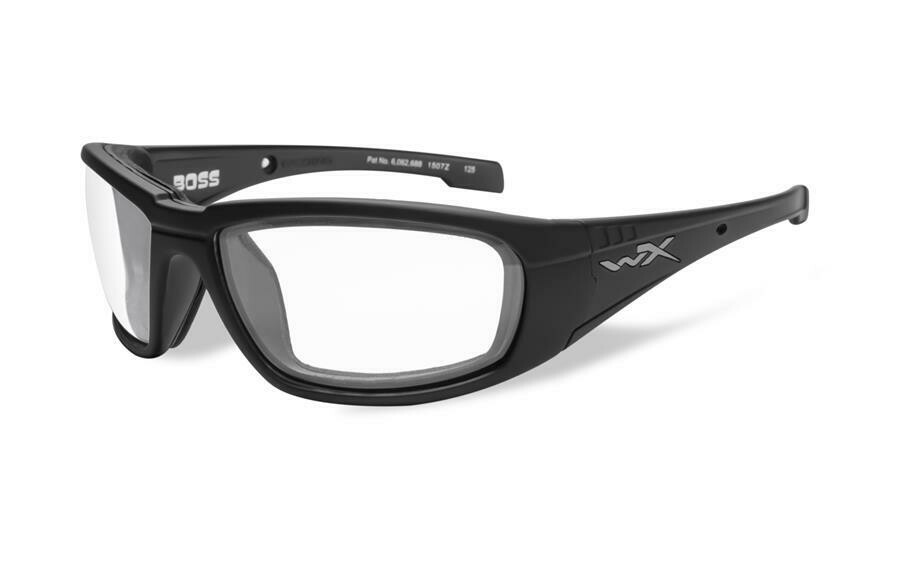 Wiley-x, CCBOS03, Clear/Matte Black