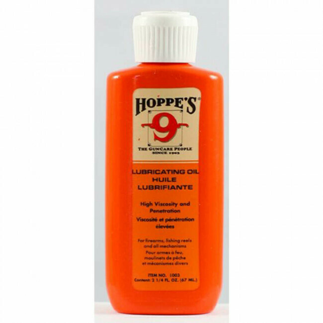 Hoppe's, 1003, Lubricating Oil- 2 1/4oz Squeeze Bottle
