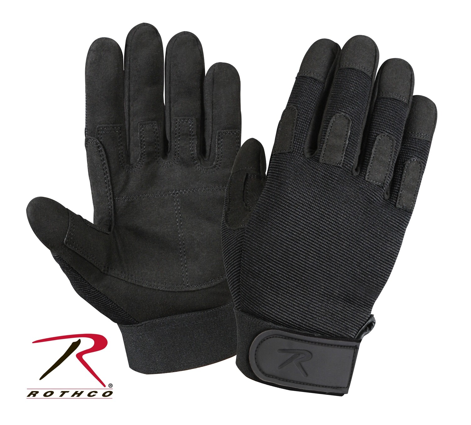Rothco, 3469, Rothco Black Lightweight All-Purpose Duty Gloves