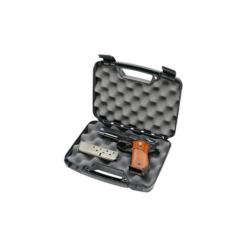 MTM, 80540, Single Handgun Case, Black