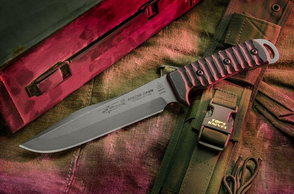 Tops Knives, APAD02, Apache Dawn Rockies Edition