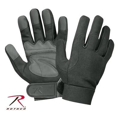 Rothco, 3468, Rothco Black Military Mechanics Gloves