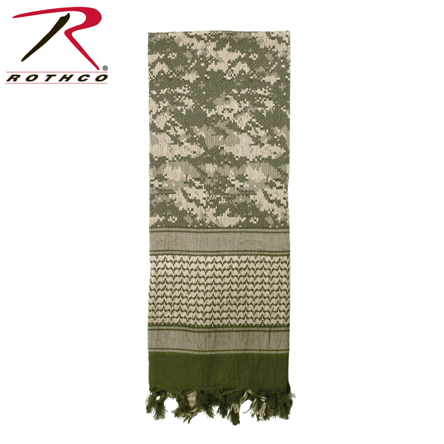 Rothco, 88537, A.C.U. Digital Camo Deluxe Shemagh Tactical Desert Scarf