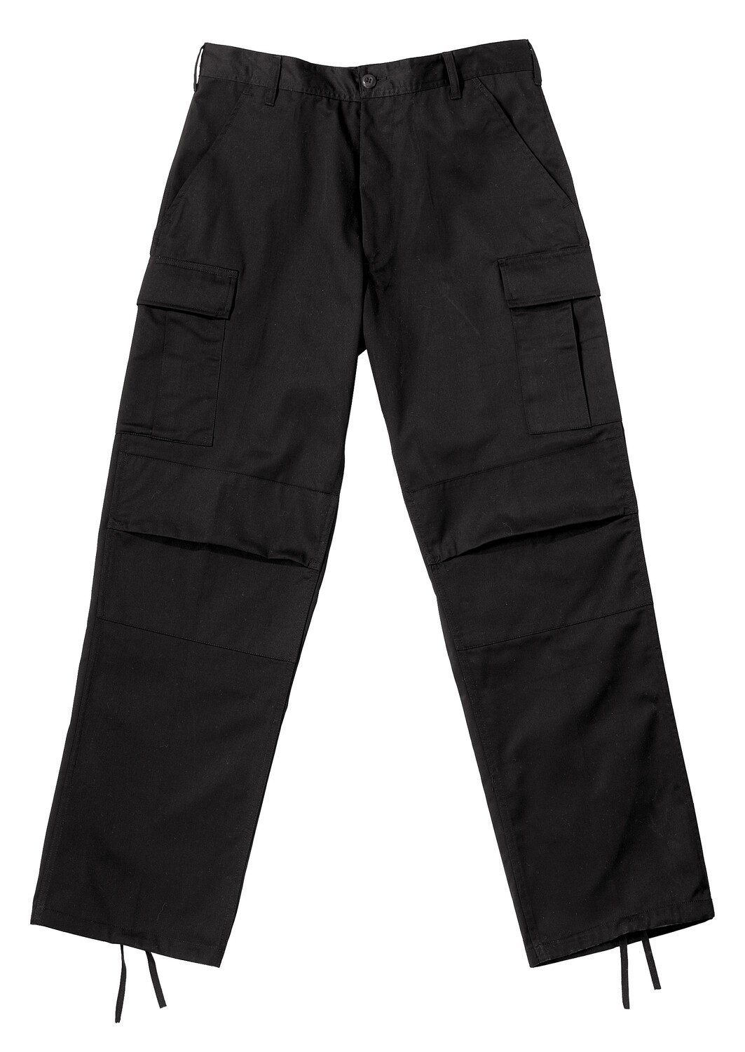 Rothco, 2971, Relaxed Fit Zipper Fly Black Fatigue Pants