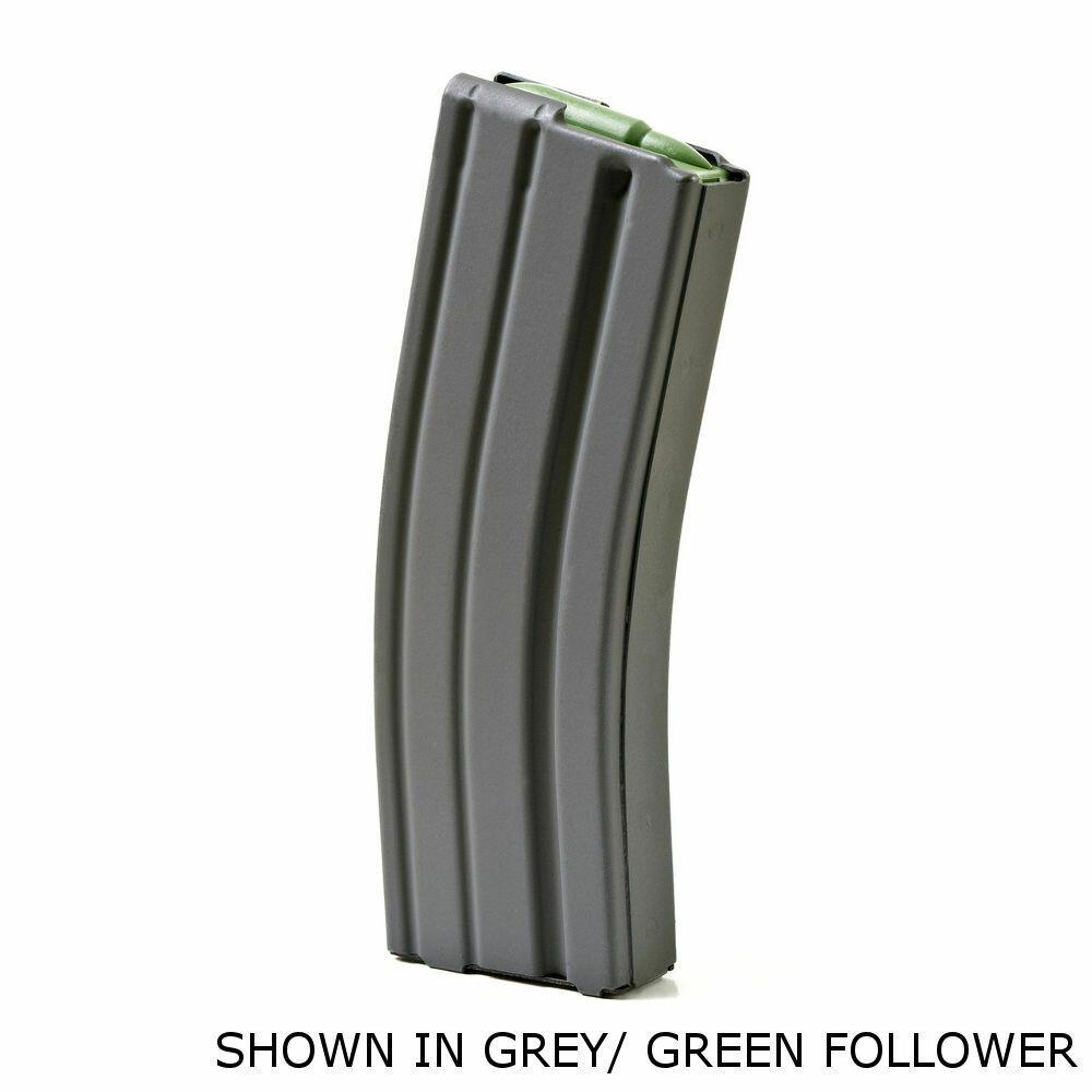 ASC, AR-15 .223 Aluminum 30rd, Black Marlube, Orange Follower