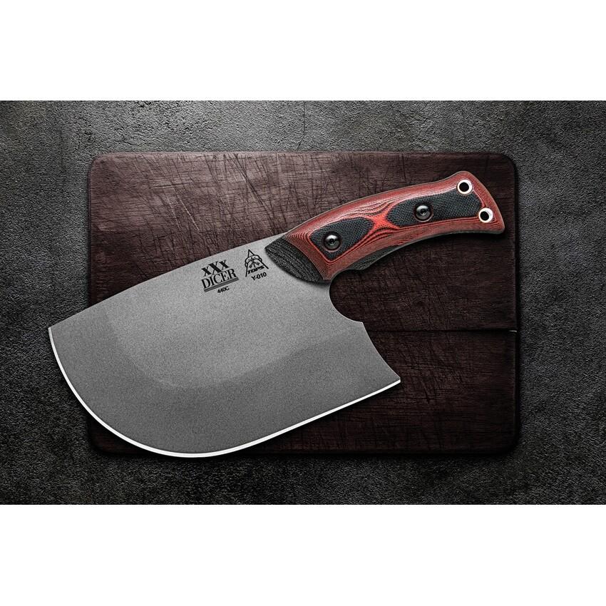 Tops, DCRX01, XXX Dicer, Chef's Knife 440c