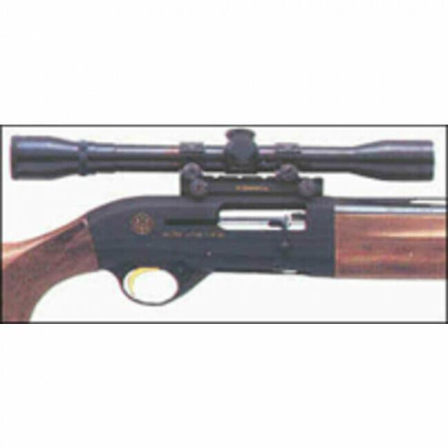 Beretta, C61275, Scope Base for Semi-auto Shotguns, Black