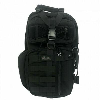 DDT, 10710, Assassin Single Shoulder Sling Backpack- Black