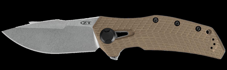 Zero Tolerance Knives, 0308,  CPM 20CV blade, Coyote G-10/ TI handle