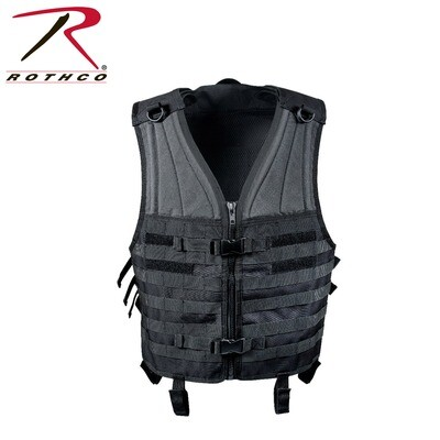 Rothco, 5403, Black M.O.L.L.E. Modular Vest
