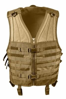 Rothco, 5404, Coyote Brown M.O.L.L.E. Modular Vest