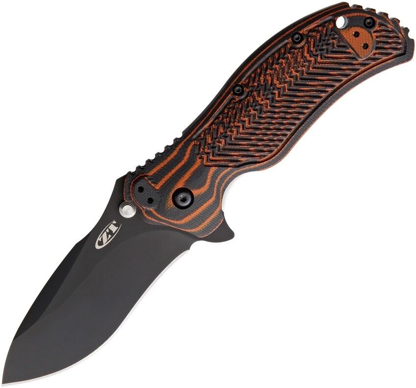 Zero Tolerance, 0350MOC, Moccasin G-10 Handle, CPM S30V Blade