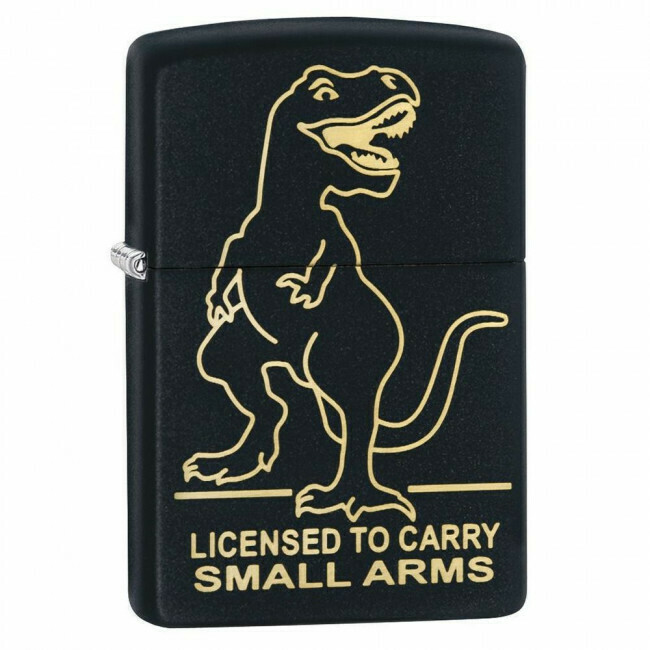 Zippo, 29629, Licensed to Carry Small Arms,