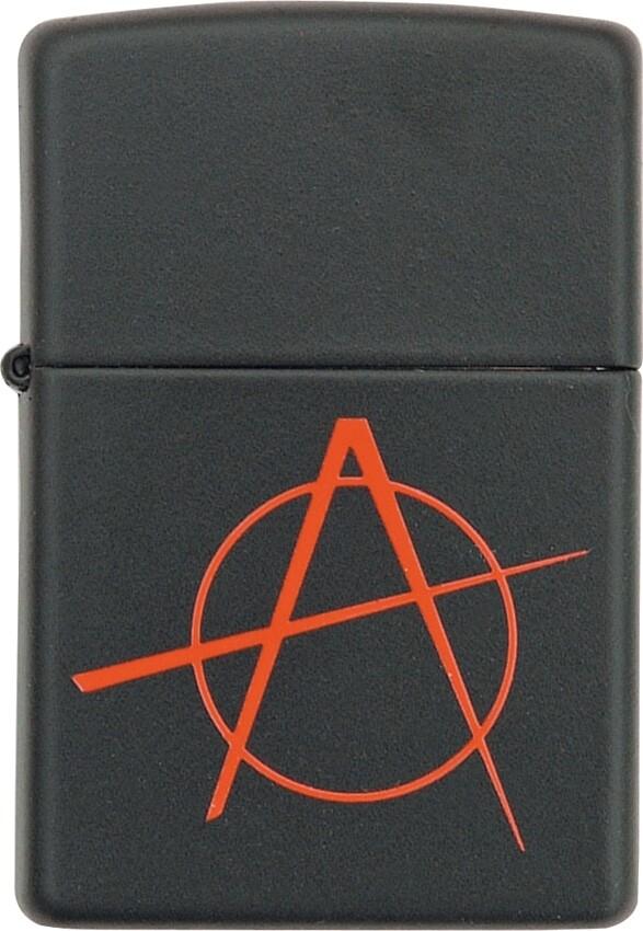 Zippo, 20842, Anarchy, Black/Red