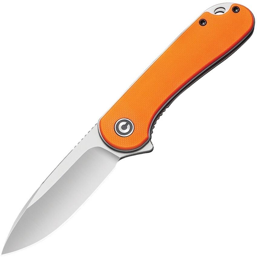 Civivi, C907R, Orange, handle, satin blade